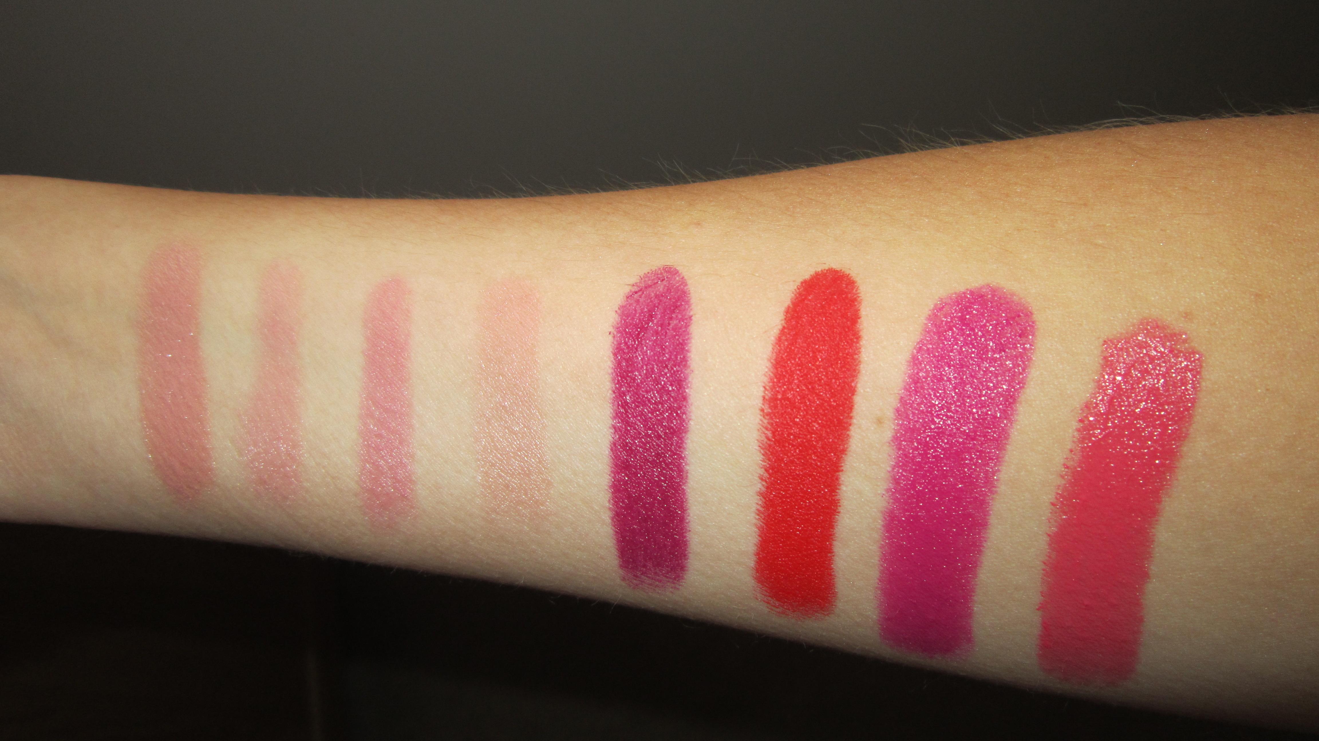 MAC Lipstick Finishes | Making Me Blush